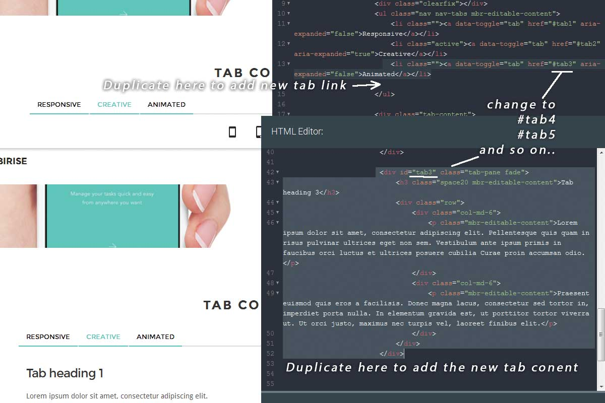 Premium Bootstrap Landing Page Theme Tutorial
